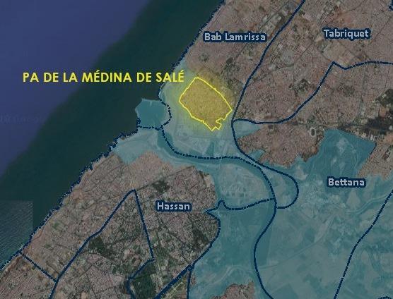Plan d'aménagement médina de Salé